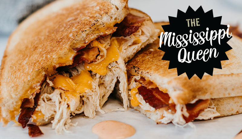 Mississippi Queen ::Knockout Melts Restaurant | Hot and Melty Sandwiches in Dubuque, Iowa